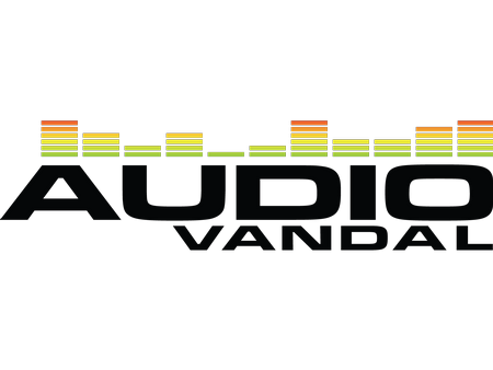 Audio vandal logo vector